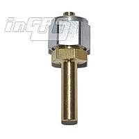 Переходник соедин. D8-D6   гайка+ниппель, для термопластик. трубки, FARO, шт