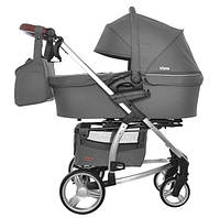 Детская коляска 2 в 1 Carrello Vista CRL-6501 Steel grey (Каррелло, Китай)