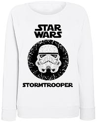Женский свитшот Star Wars - Stormtrooper (белый)