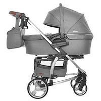 Детская коляска 2 в 1 Carrello Vista CRL-6501 Shark grey (Каррелло, Китай)