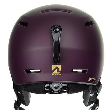 Шолом гірськолижний Marker Kent 51-56 Purple, фото 2