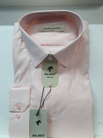Мужская рубашка однотонная Palmen, фото 2