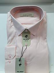 Мужская рубашка однотонная Palmen