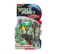 """Трансформер музыкальный """"Space Robot"""" (зеленый) D622-E177A"""