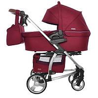Детская коляска 2 в 1 Carrello Vista CRL-6501 Ruby red (Каррелло, Китай)
