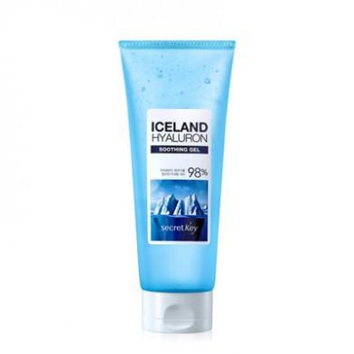 Secret Key Увлажняющий гель для тела и лица с гиалуроновой кислотой Iceland Hyaluron Sothing Gel 98%