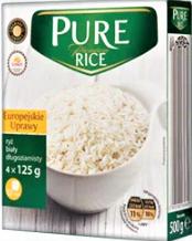 Рис в пакетах Gwarancja jakosci  Pure Ricei 4*125g