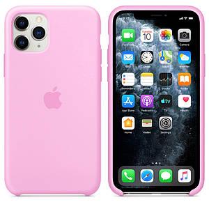 Чехол накладка xCase для iPhone 11 Pro Max Silicone Case розовый