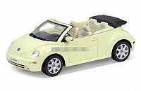 Модель машины 1:24 VOLKSWAGEN NEW BEETLE WELLY