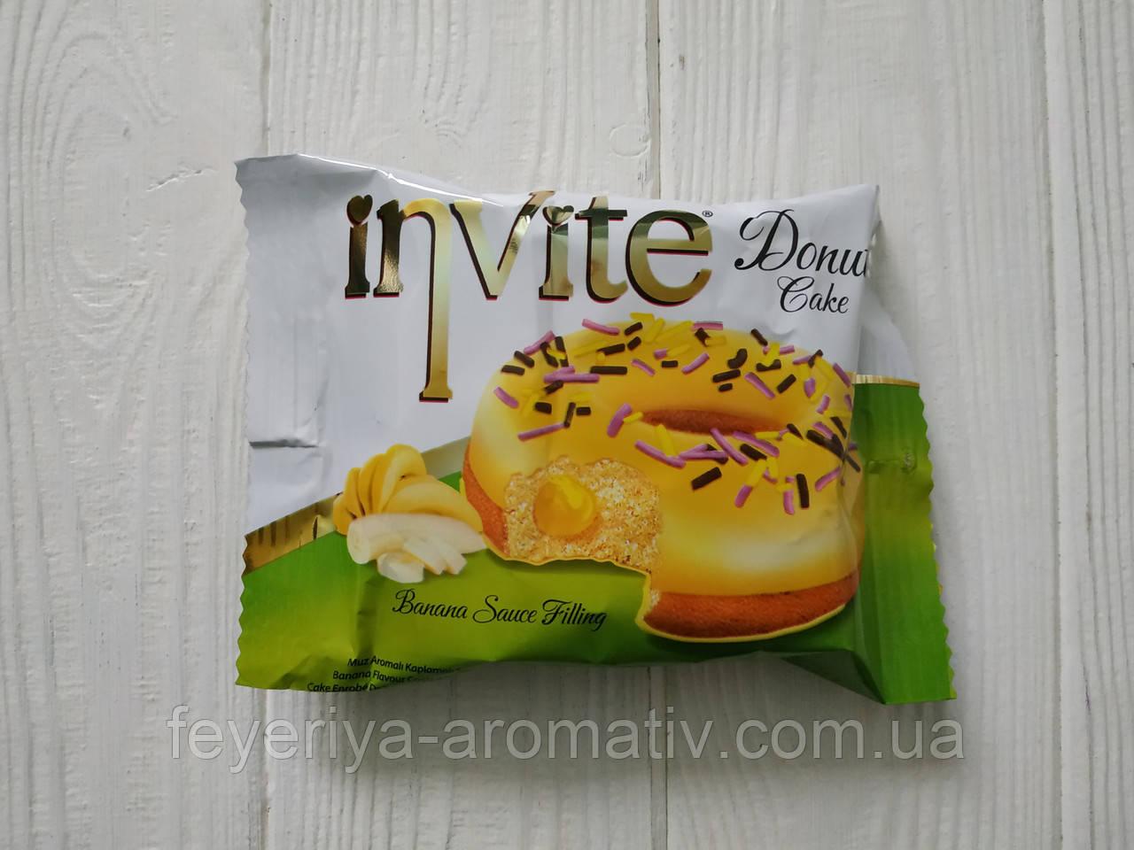 Пончик со вкусом банана Invite Donut Cake