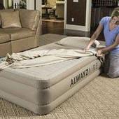 Надувная кровать BestWay 69035 с электронасосом (191*97*51 см)