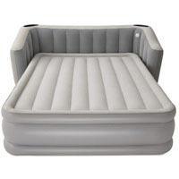 Надувная кровать Bestway 67620 (233*196*80 см) с электронасосом и подсветкой