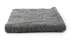 SGCB SGGD197 Microfiber Towel Grey - микрофибра без оверлока, серая 40х40 см