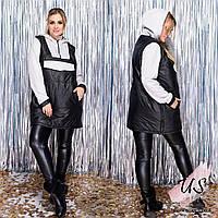 Батальная молодежная женская куртка-бомбер. 2 цвета!, фото 1