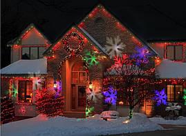 Лазерний проектор сніжинки, фото 3