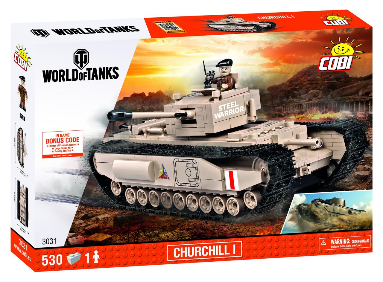 Конструктор Cobi World Of Tanks Mk IV Черчиль I 530 деталей (COBI-3031) (5902251030315)
