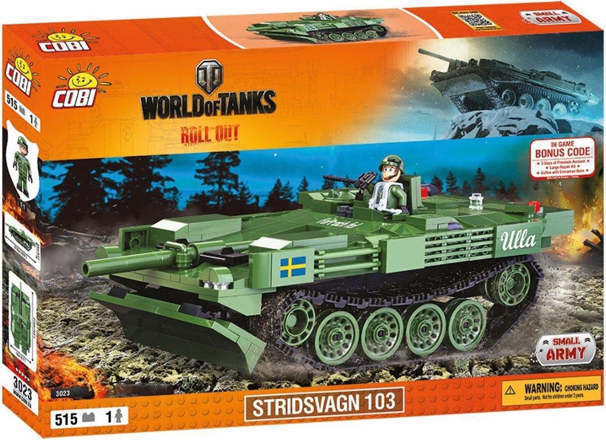 Конструктор Cobi World Of Tanks Stridsvagn 103 515 деталей (COBI-3023) (5902251030230)