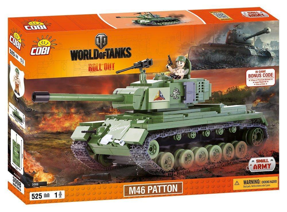 Конструктор COBI World Of Tanks М46 Паттон (COBI-3008) (5902251030087)