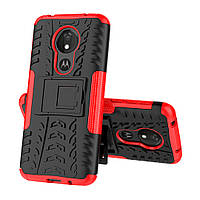 Чехол Armor Case для Motorola Moto G7 / G7 Plus Красный