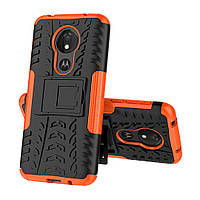 Чехол Armor Case для Motorola Moto G7 / G7 Plus Оранжевый
