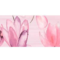 Декор Golden Tile Flora №1 розовый 1В5311 200х500 мм N60235129