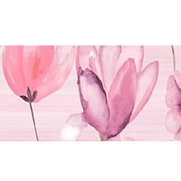 Декор Golden Tile Flora №3 розовый 1В5331 200х500 мм N60235131