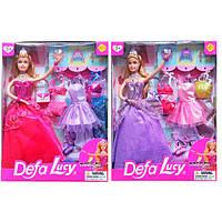 """Кукла """"Defa Lucy"""" 2 вида,с одеждой,аксесс, в кор. /24-2/"""