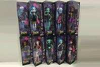 """Кукла """"Monster High"""" 10 видов,шарнир,с аксесс, в кор.14*7*33см /96-2/"""