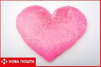 Мягкая игрушка Сердце 50 см розовое