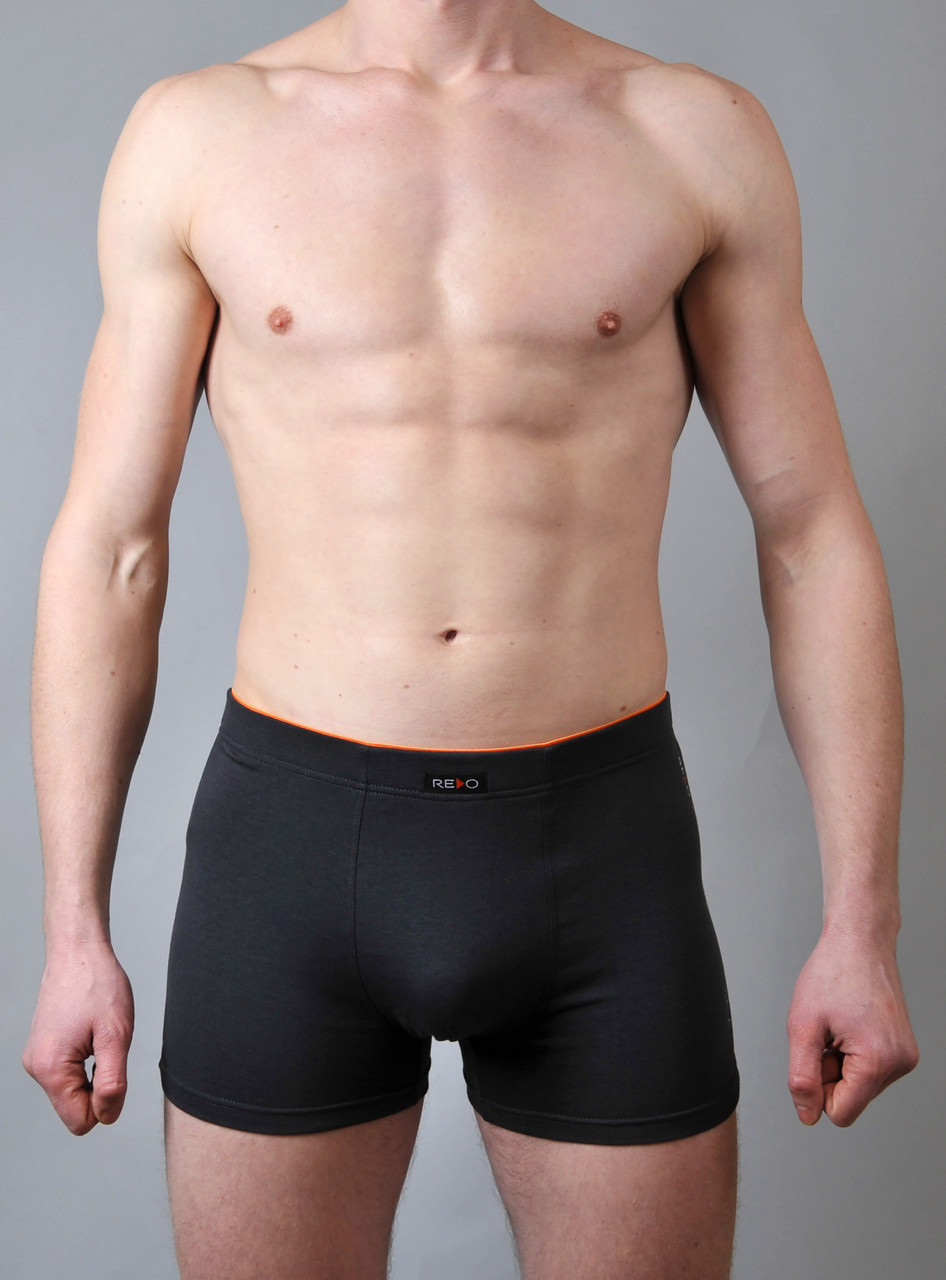 Мужские трусы - боксеры Redo  #536 L темно серые