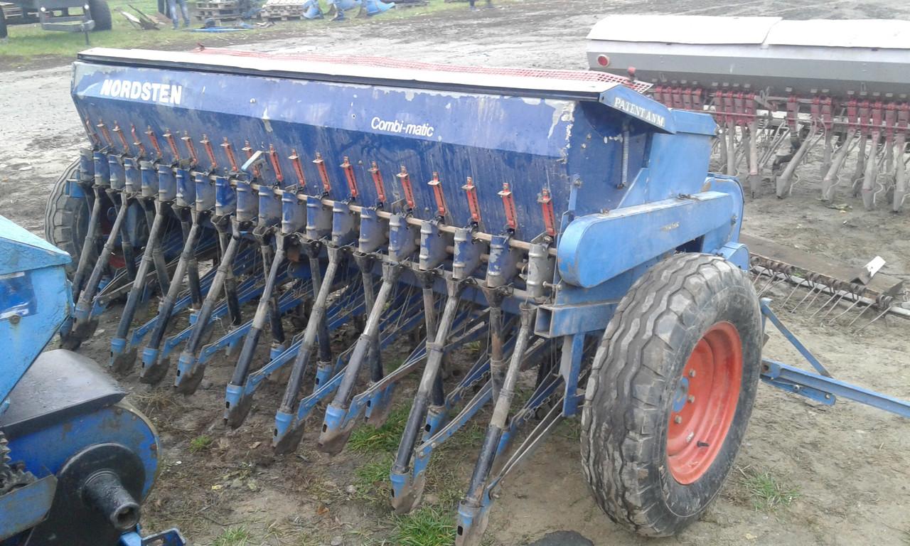 Сівалка навісна зернова з добривами 2,6 м Nordstein Данія б/у Т-40 ЮМЗ МТЗ