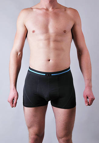 Мужские трусы - боксеры Redo  #555  M темно серый, фото 2