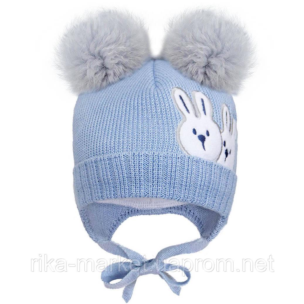 Зимняя шапка для мальчика, David`star.2079, от 6 до 9 месяцев