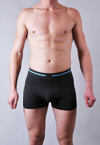 Мужские трусы - боксеры Redo  #555  XXL темно серый, фото 2