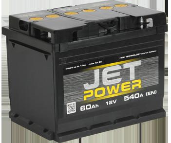Автомобильные аккумуляторы Jet Power