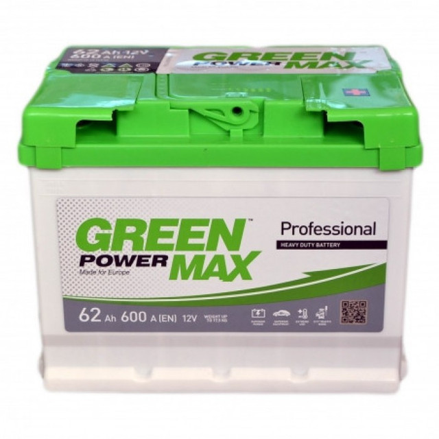 Автомобильные аккумуляторы Green Power Max