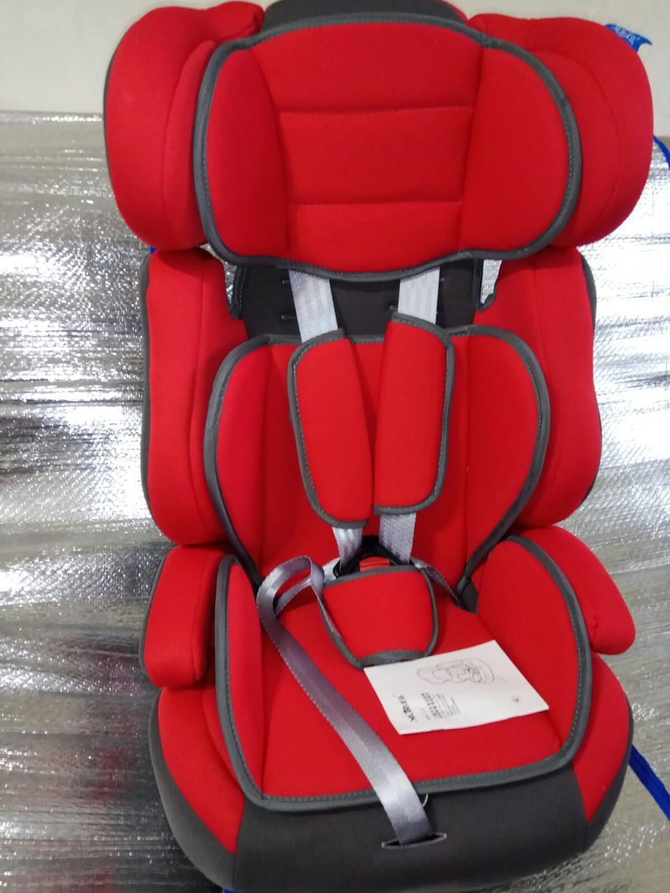 Автокресло детское Z-12  красный