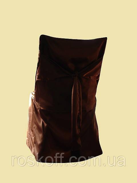 Чехлы на стулья коричневого цвета