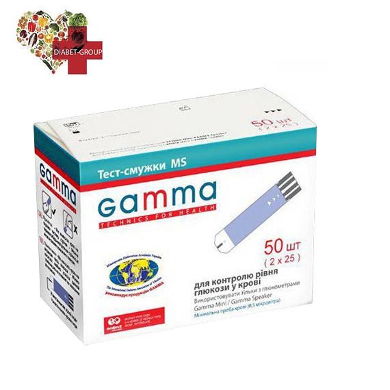 Тест-полоски GAMMA MS 50