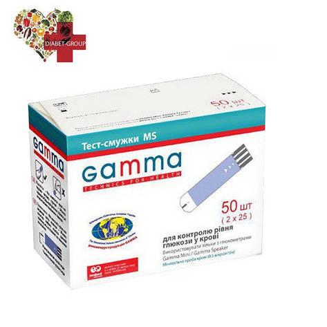 Тест-полоски GAMMA MS 50, фото 2