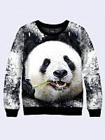 Свитшот женский Панда гранж