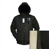 Мужские зимние куртки на овчине фабричный пошив пр-во Украина E838H