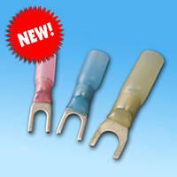 Коннектор вилочный термоусаживаемый под опрессовку  (в ассортименте)