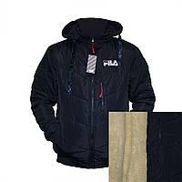 """Мужские зимние куртки """"FILA"""" на овчине фабричный пошив пр-во Украина  E840H"""