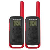 Рация Motorola Talkabout T62 Red Twin Pack &amp, Chgr WE