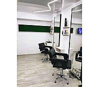 Кресло парикмахерское Flamingo на пневматике Крестовина Хром, КЗ Boom-24 (Velmi TM)