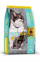 Nutram Ideal Solution сухий корм для здоров'я шкіри та шерсті кішок живуть у приміщеннях 5КГ