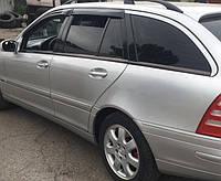 Ветровики, дефлекторы окон Mercedes Benz C-klasse Wagon (S203) 2000-2007 'Cobra tuning'