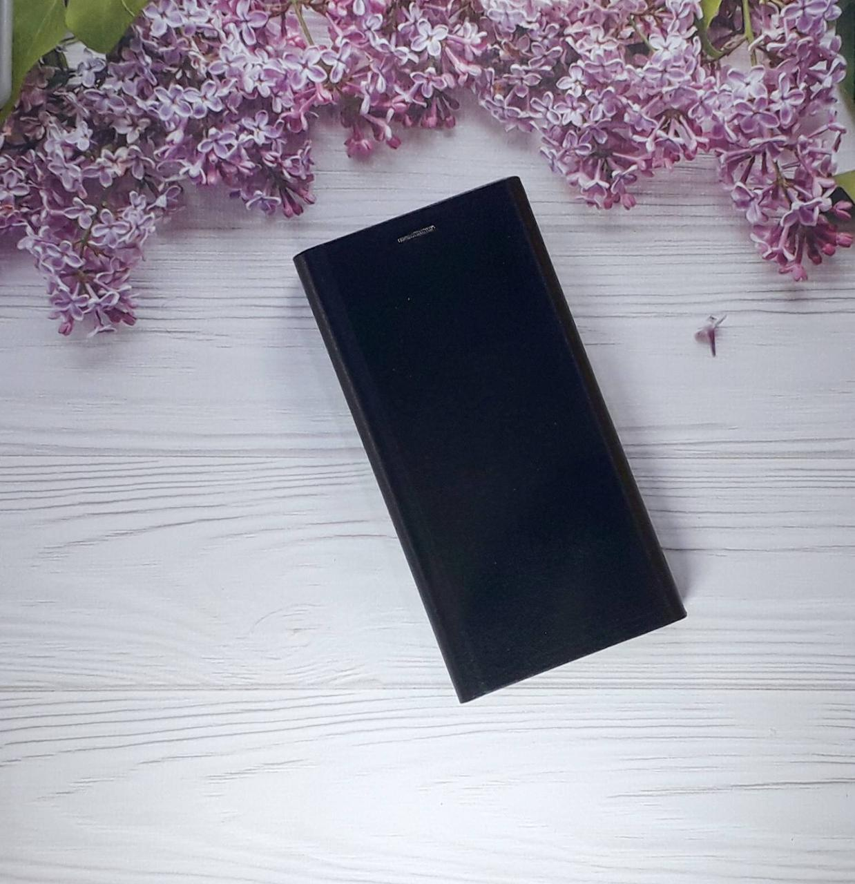 Чехол (книжка) с визитницей для Xiaomi Note 6 Pro, Black