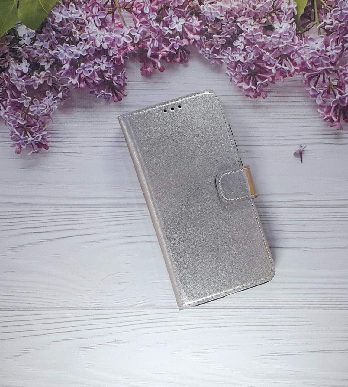 Чехол (книжка) с визитницей для Xiaomi Note 6 Pro, Rose Gold